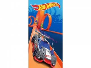 Carbotex Froté osuška Hot Wheels 140x70cm